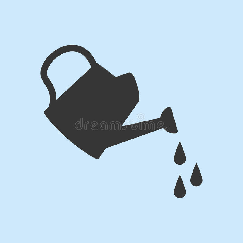 Free Watering Can Icon Stock Photos - 83139043