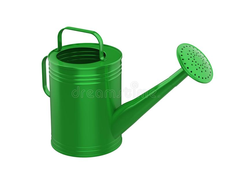 Watering Can Isolated royalty free illustration