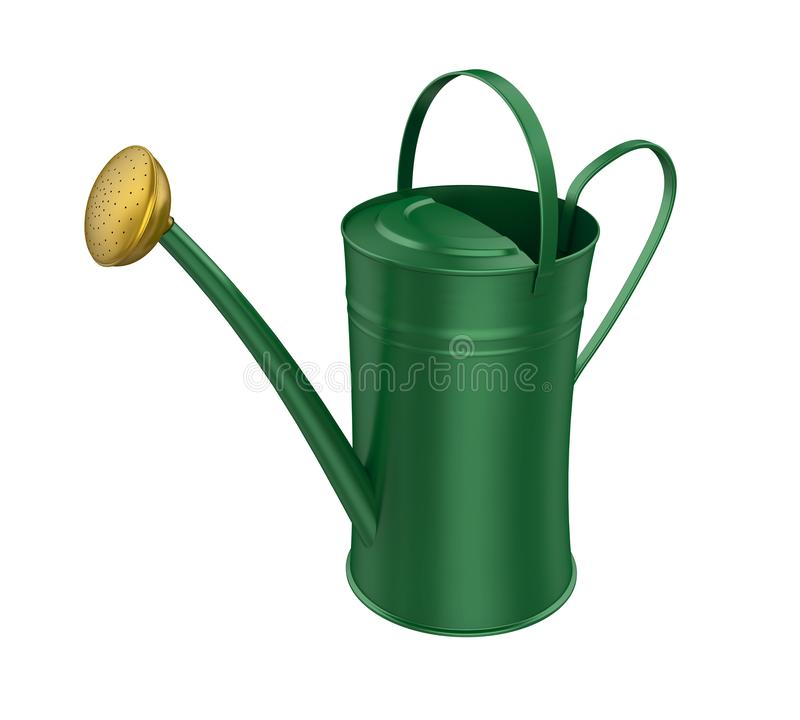 Watering Can Isolated vector illustration