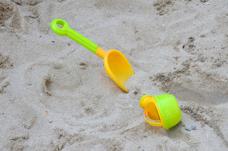 Download Watering can and spades stock photo. Image of coastal - 26574734