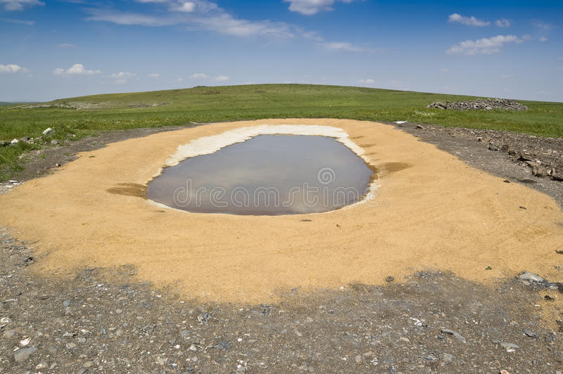 Download Watering hole stock photo. Image of spain, landscape - 18435980
