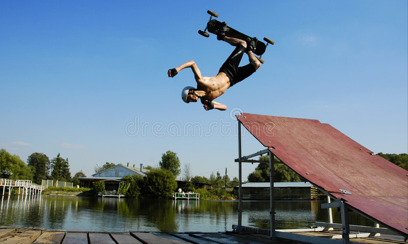 Waterjumper lizenzfreie stockbilder
