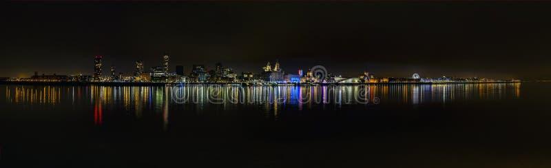 Waterkant 3 van Liverpool royalty-vrije stock foto's