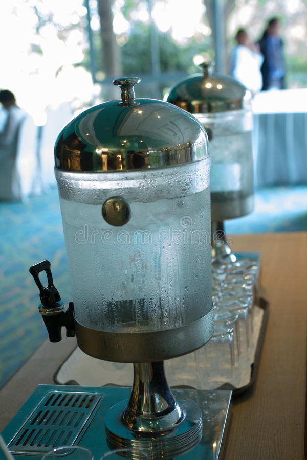 Waterkoelers voor de partij royalty-vrije stock afbeelding