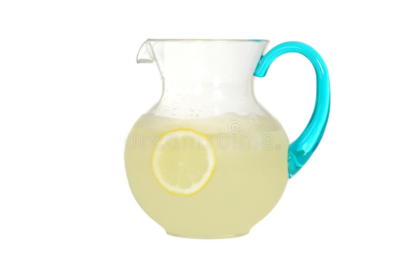Waterkruik limonade royalty-vrije stock foto's