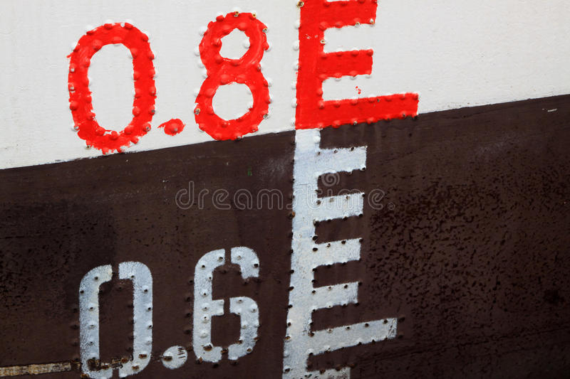 Download Waterline stock photo. Image of ship, black, measurement - 20618552