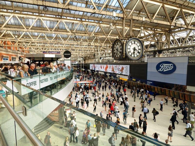 Waterloo stacja zdjęcie stock