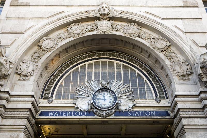 Waterloo Station royalty free stock photo