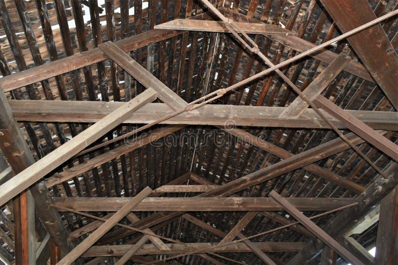 Waterloo Zakrywał most, miasteczko Warner, Merrimack okręg administracyjny, New Hampshire, Stany Zjednoczone, Nowa Anglia obraz royalty free