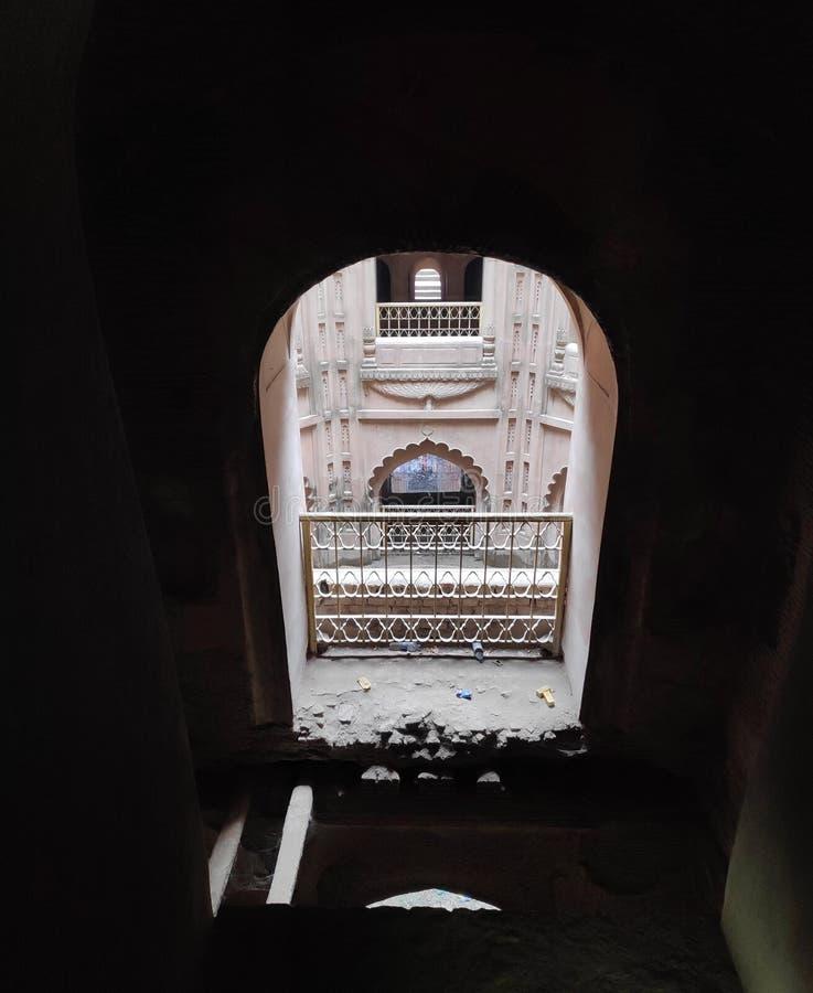 Watermalon sala, Bada imambada, dziedzictwo, Lucknow zdjęcia stock