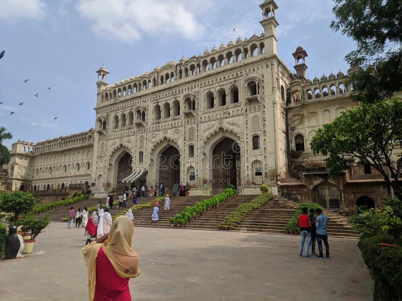 Watermalon sala, Bada imambada, dziedzictwo, Lucknow fotografia stock