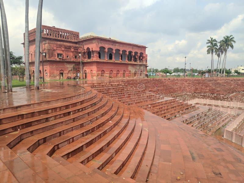 Watermalon sala, Bada imambada, dziedzictwo, Lucknow obraz stock
