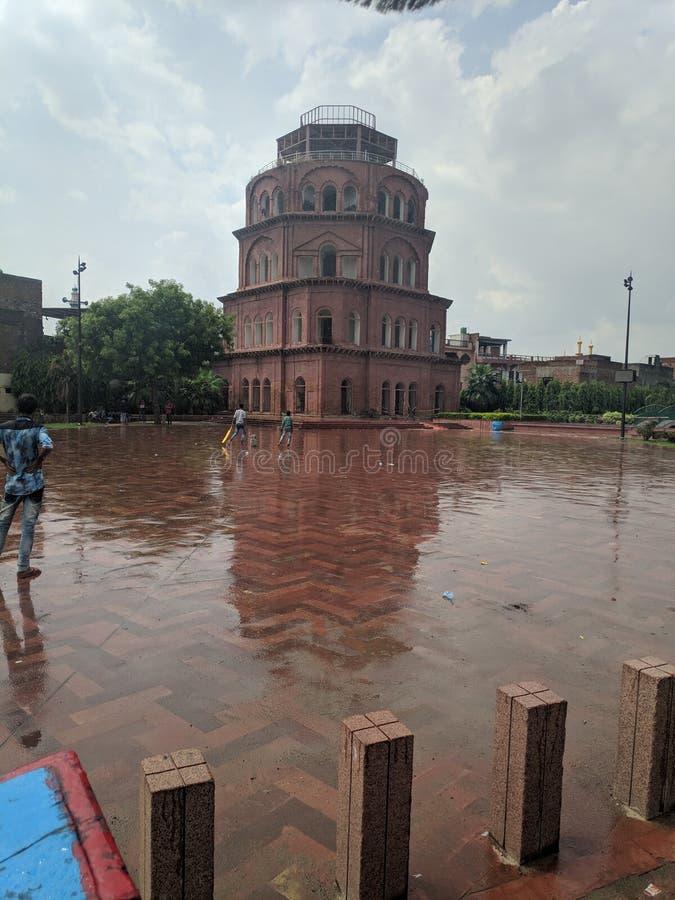 Watermalon sala, Bada imambada, dziedzictwo, Lucknow zdjęcie stock