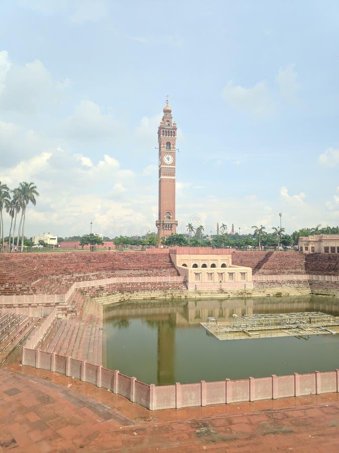 Watermalon sala, Bada imambada, dziedzictwo, Lucknow obraz royalty free