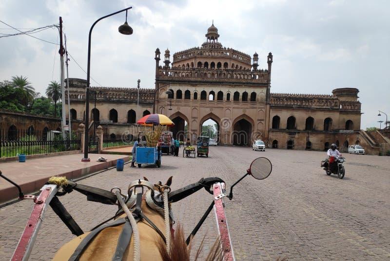 Watermalon sala, Bada imambada, dziedzictwo, Lucknow zdjęcie royalty free