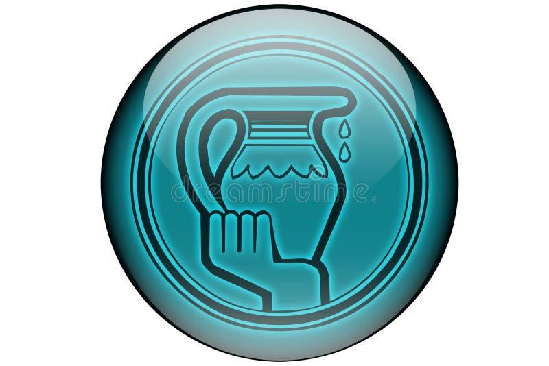 Waterman royalty-vrije illustratie