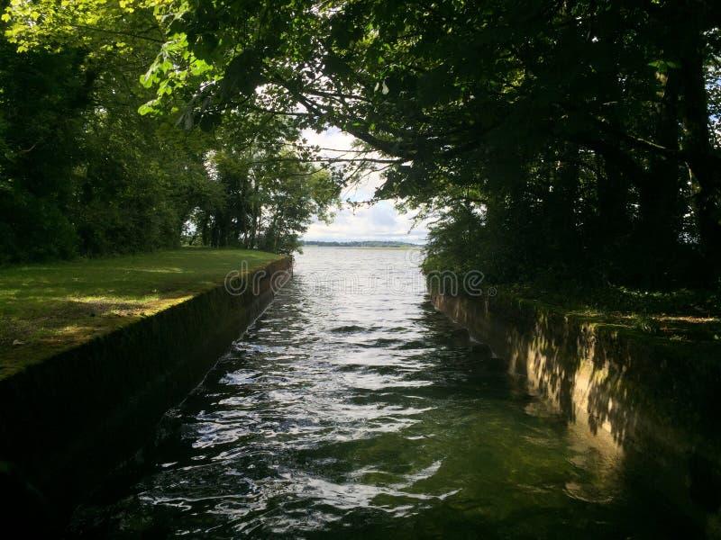 Watermanier in Ierland royalty-vrije stock afbeeldingen
