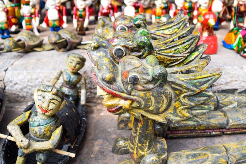 Watermarionetten stock afbeelding