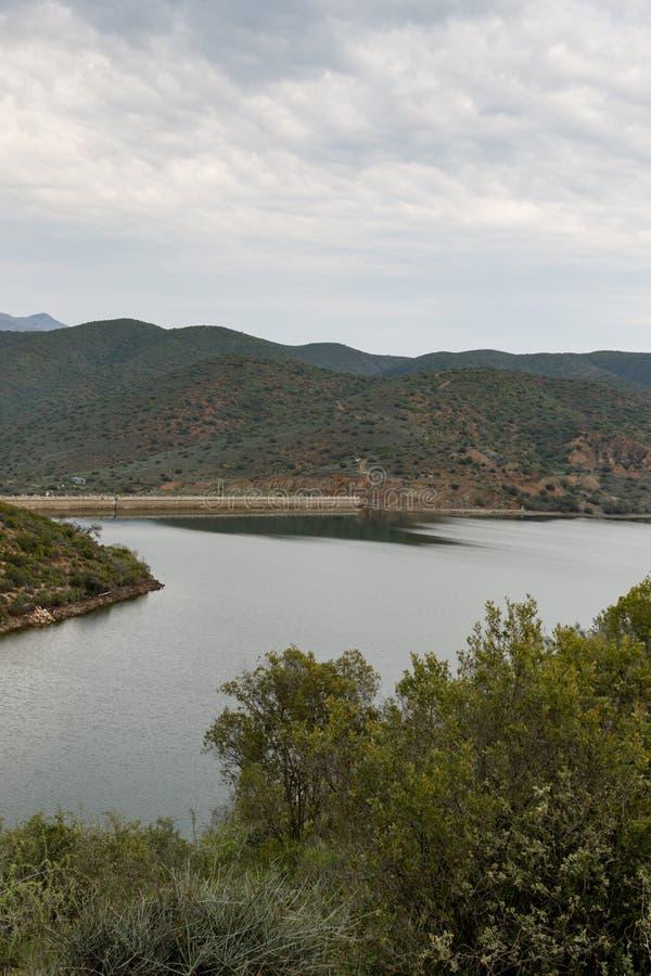 Watermassa in Calitzdorp stock afbeeldingen