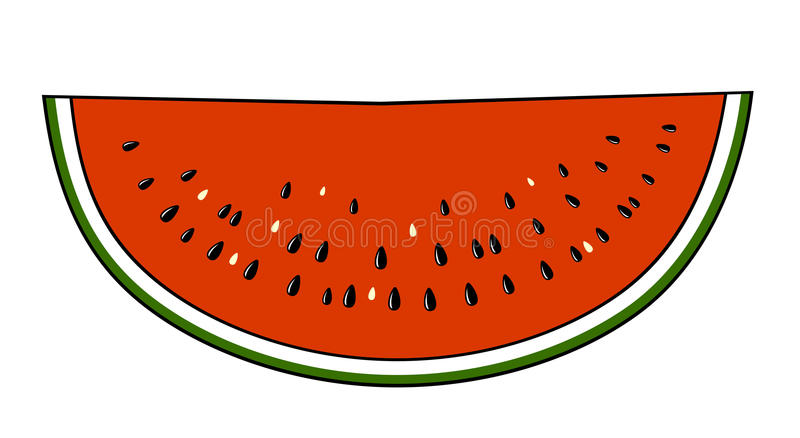 Watermellon stock illustration