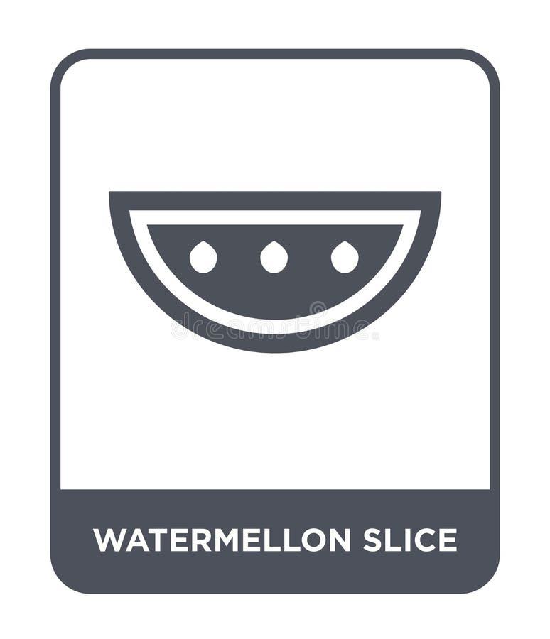 watermellon slice icon in trendy design style. watermellon slice icon isolated on white background. watermellon slice vector icon royalty free illustration