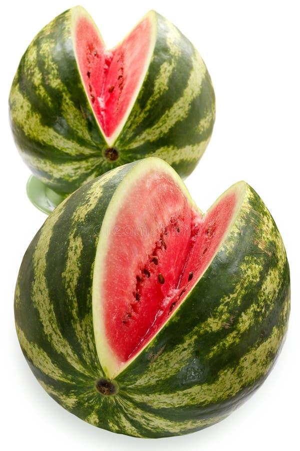 Watermeloenen royalty-vrije stock afbeeldingen