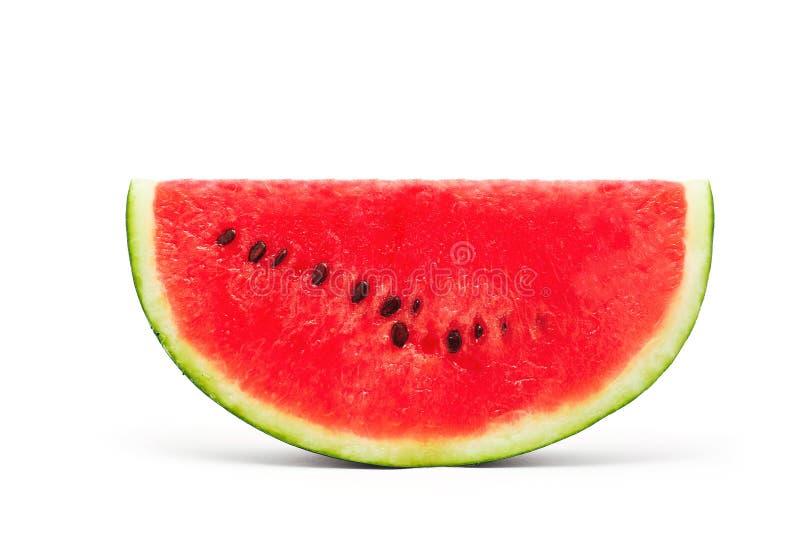 Watermeloenplak royalty-vrije stock afbeelding