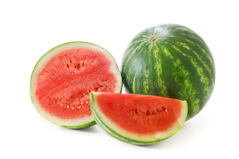 Watermelon. Isolated on a white