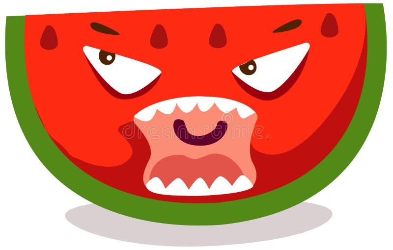 Download Watermelon stock vector. Illustration of clip, juice - 18834629