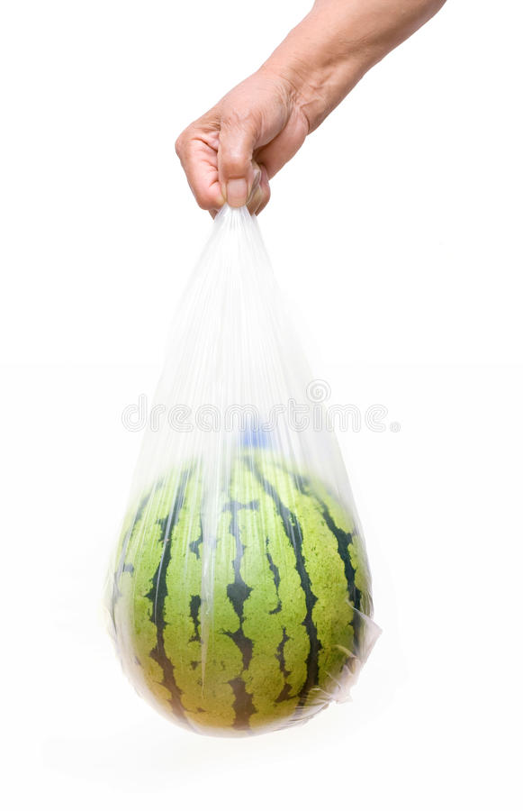 Watermelon isolated on white background royalty free stock photography