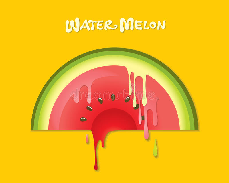 Download Watermelon stock vector. Image of green, cover, label - 20276054