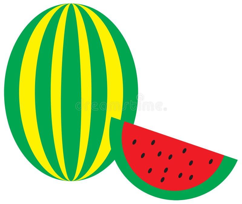 Download Watermelon stock vector. Illustration of watermelon, yellow - 20518506