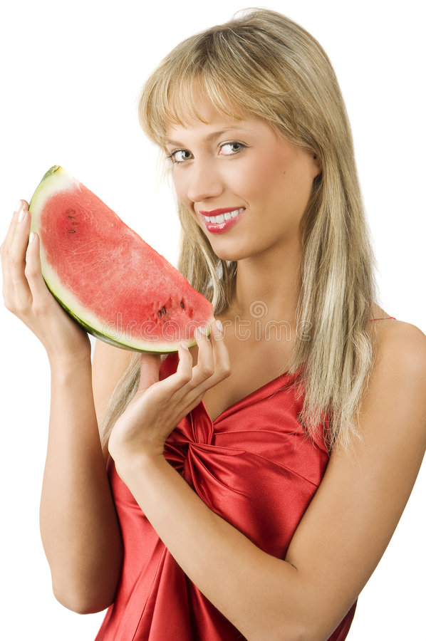 The watermelon stock photos