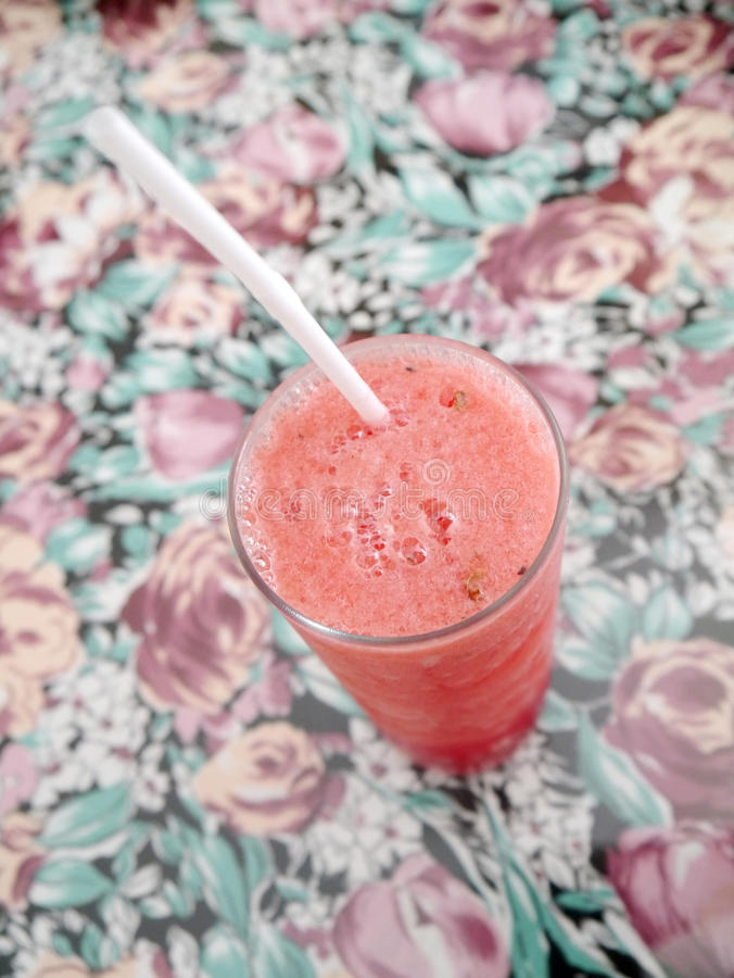 Watermelon blended