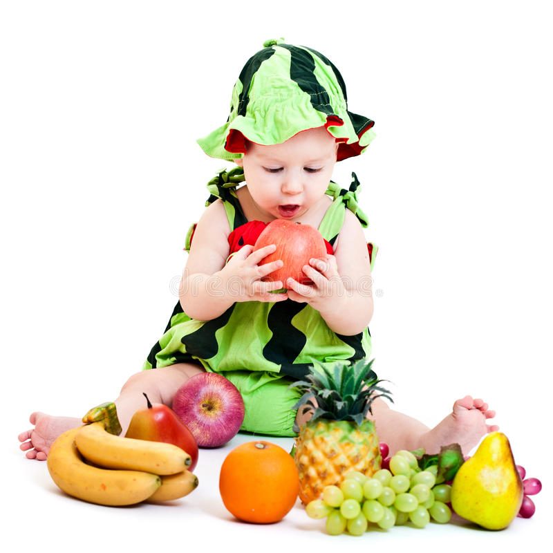 Download Watermelon boy stock photo. Image of tranquil, pretty - 21891560