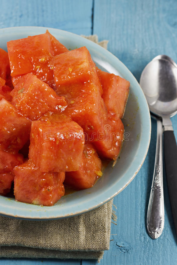 Watermelon Curry Royalty Free Stock Photos