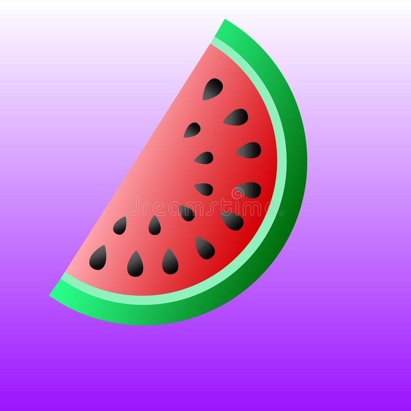 Watermelon gradient stock photography