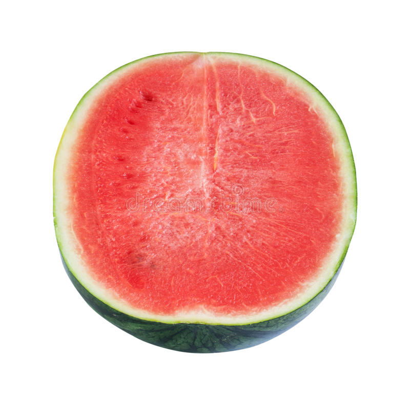 Download Watermelon isolated stock image. Image of part, white - 32327197