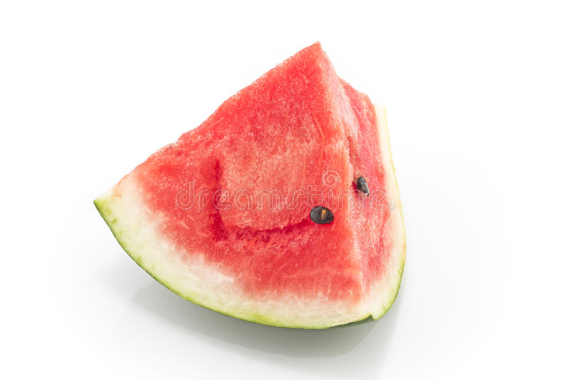 Watermelon isolated on white royalty free stock images
