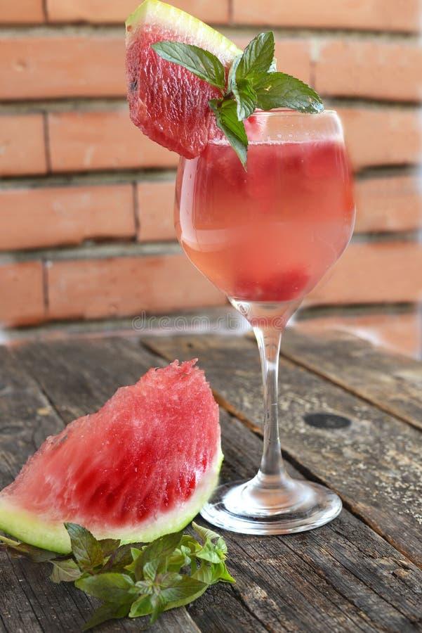 Watermelon lemonade royalty free stock image