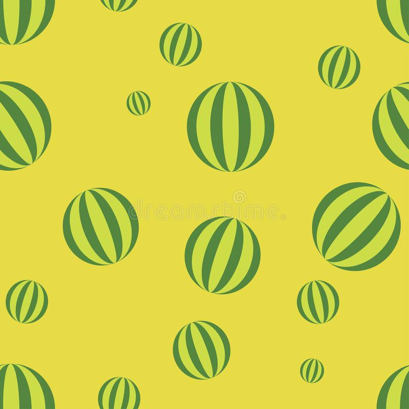 Watermelon pattern seamless color royalty free illustration