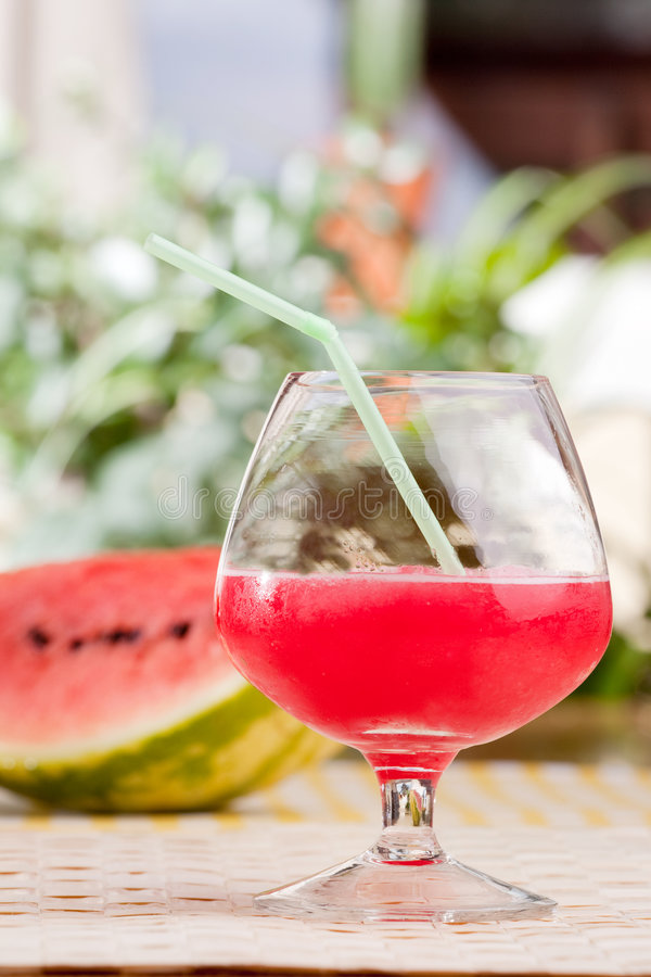 Download Watermelon Punch stock photo. Image of shake, setting - 9099644