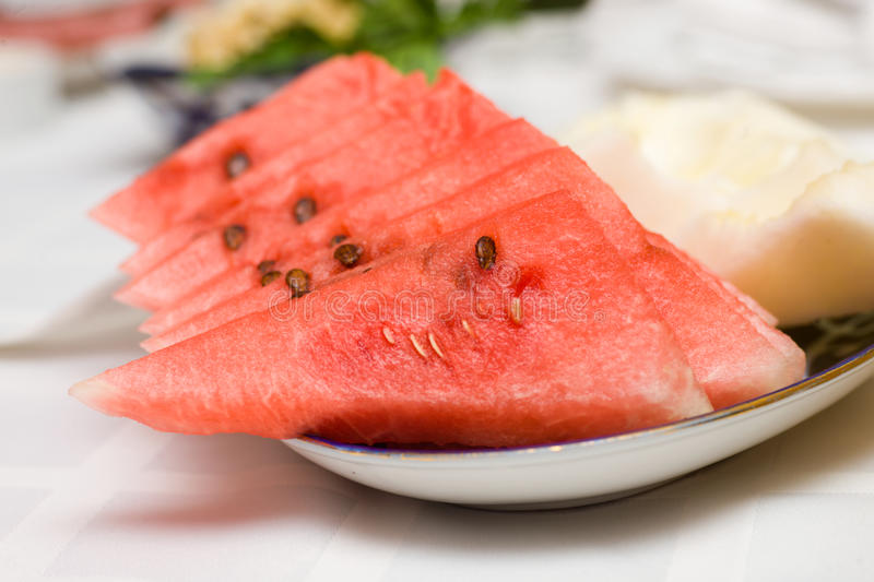 Download Watermelon slices stock photo. Image of pink, fresh, refreshment - 21393138