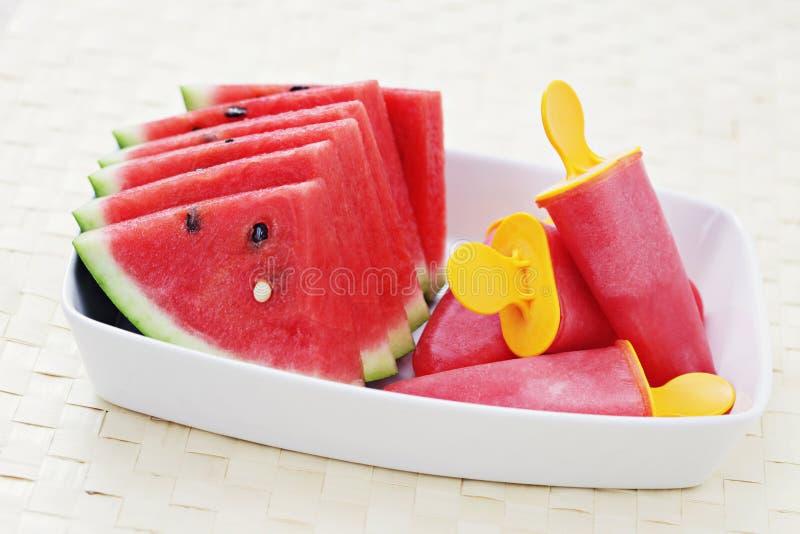 Watermelon Sorbet Royalty Free Stock Photography