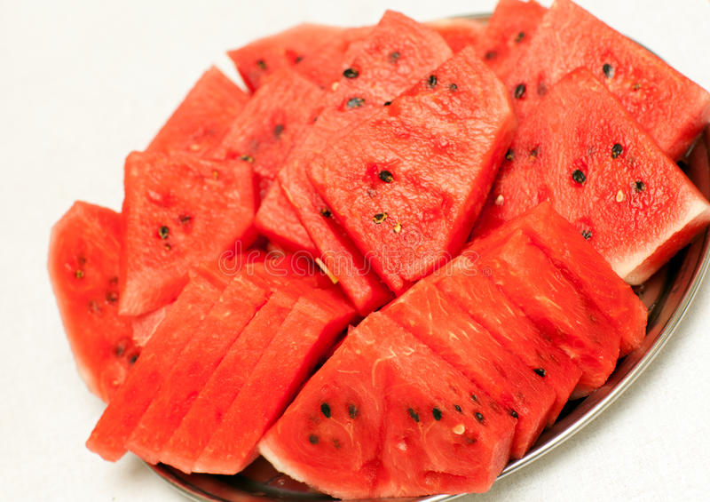 7/15/18-7/21/18 Watermelon-tray-red-sliced-lying-58129733