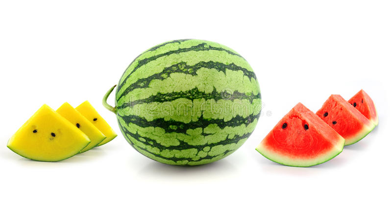 Download Watermelon  On White Background Stock Photo - Image of sweet, round: 39511486