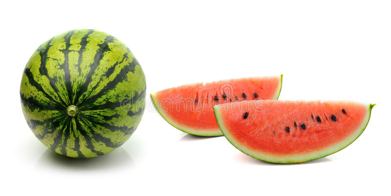 Download Watermelon  On White Background Stock Photo - Image of fresh, melon: 39513886