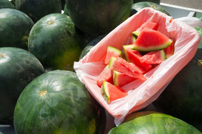 Watermelons stock photos