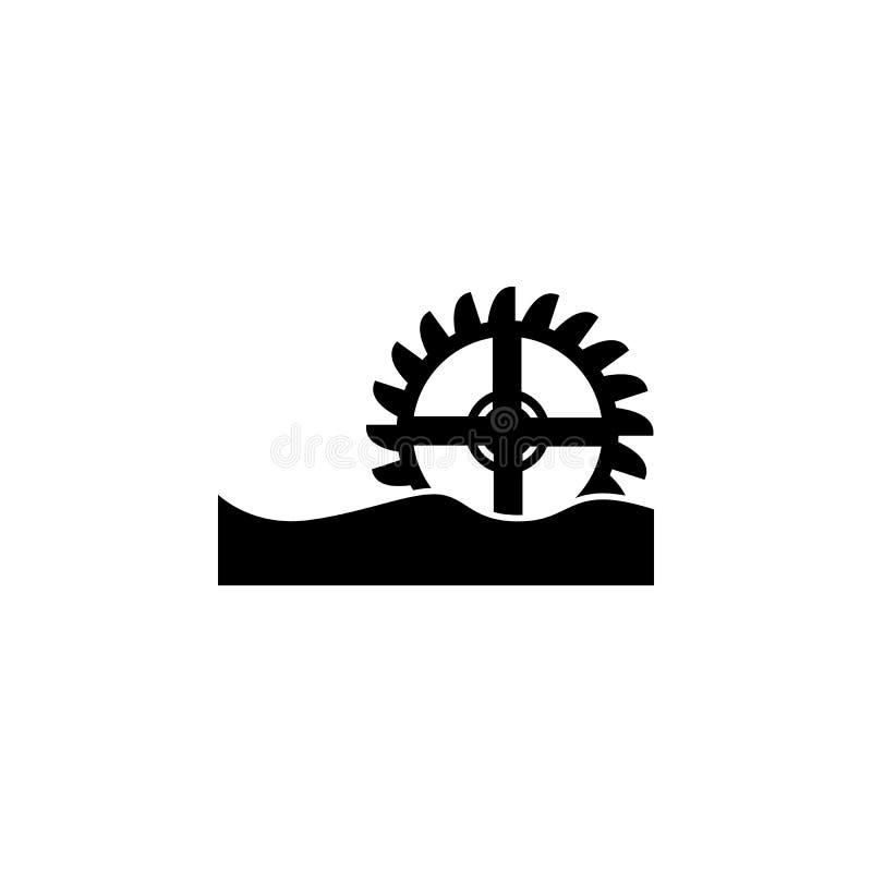 Watermill传染媒介象 皇族释放例证