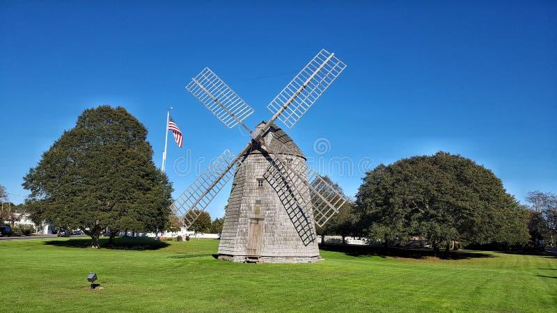 Watermill风车 免版税库存照片